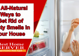 14 All-Natural Ways to Get Rid of Nasty Smells in Your House