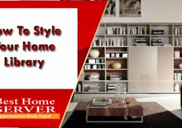 How To Style Your Home Library
